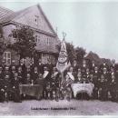Fahnenweihe im Jahre 1912