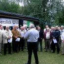 Singen beim Frohsinn Hagenbach (Männerchor)