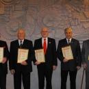 Ludwig Müller, Karl Knöll, Karl Pfirrmann, Ernst Reiter und Richard Scherrer