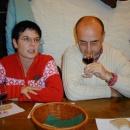 Weinprobe mit Dornfelder