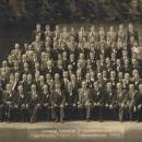 Fahnenweihe im Jahre 1953
